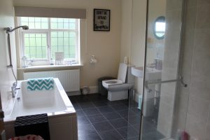The bathroom in Elmhurst, Care in Mind's service based in Stockport