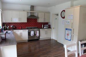 The large kitchen in Elmhurst, Stockport