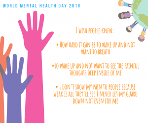 World Mental Health Day -2018-CareinMind-Stockport-3