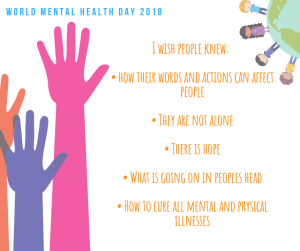 World Mental Health Day -2018-CareinMind-Stockport-4
