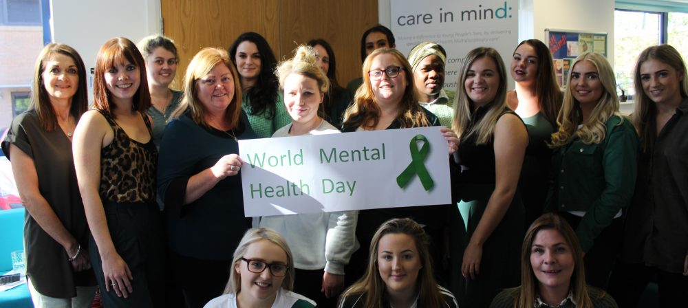 World Mental Health Day 2018 - Care in Mind - Head Office - Stockport