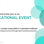 Care in Minds Invite for the Educational Event we are hosting in March 2019 in West Yorkshire