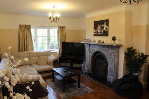 Cherryhurst's large lounge