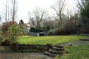 Cherryhurst's back garden