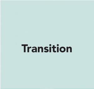 Care in Mind Care Pathway: Step 1 - Transition
