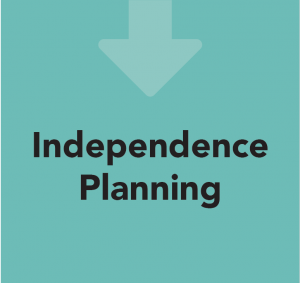 Care in Mind's Care Pathway; Step 4 - Independence Planning