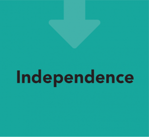 Care in Mind's Care Pathway: Step 6 - Independence