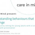 Education event details for workshop on Challenging behaviour