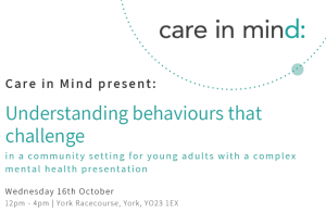 Education event details for workshop on Challenging behaviour