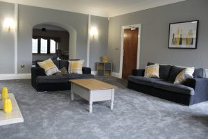 Large lunge at Woodside, Care in Mind