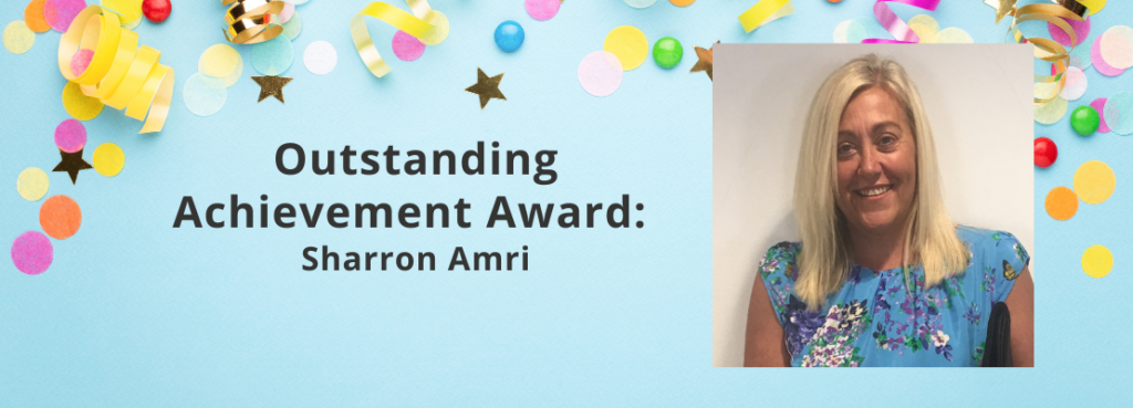 Outstanding Achievement Award: Sharron Amri