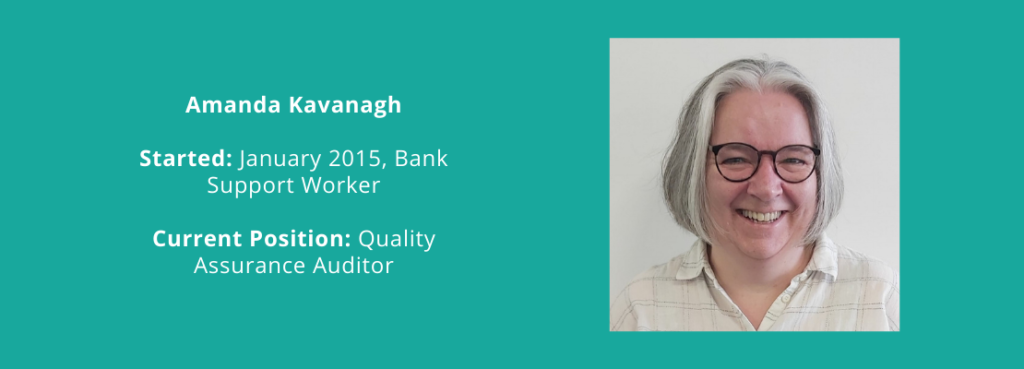 Amanda Kavanagh - Staff Development